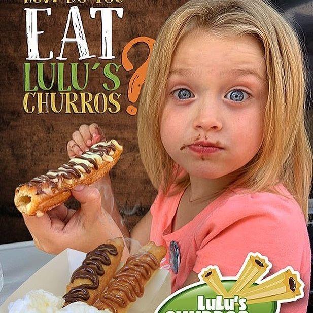 How do you eat Lulu´s Churros
